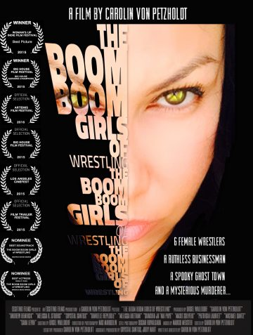 The Boom Boom Girls of Wrestling poster